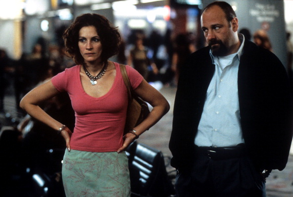 Julia Roberts And James Gandolfini In 'The Mexican'